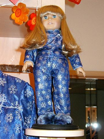 fe64783ca40b American Girl Today Pictures: Bike | Oriental style snowflake pajamas | Swan  Lake style ballet ...
